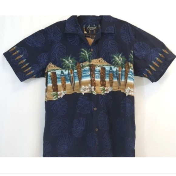 ec62400a Favant Shirts | Hawaiian Shirt Size Large Button Down | Poshmark